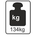 134kg