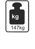 147kg