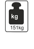 151kg